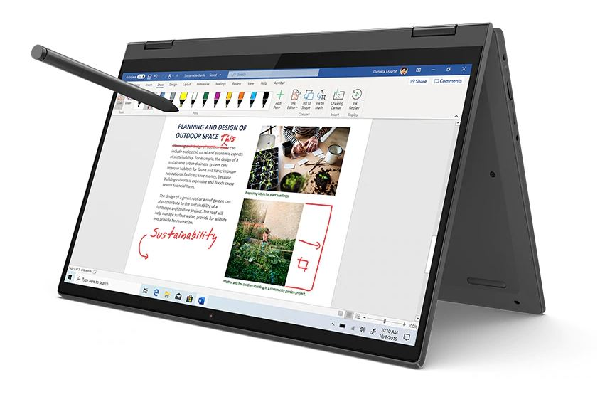 Konvertibilní notebook Lenovo IdeaPad FLEX 5