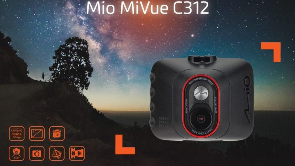 Autokamera Mio MiVue C312