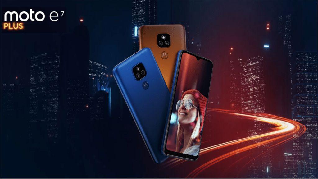 Mobilní telefon Motorola E7 Plus