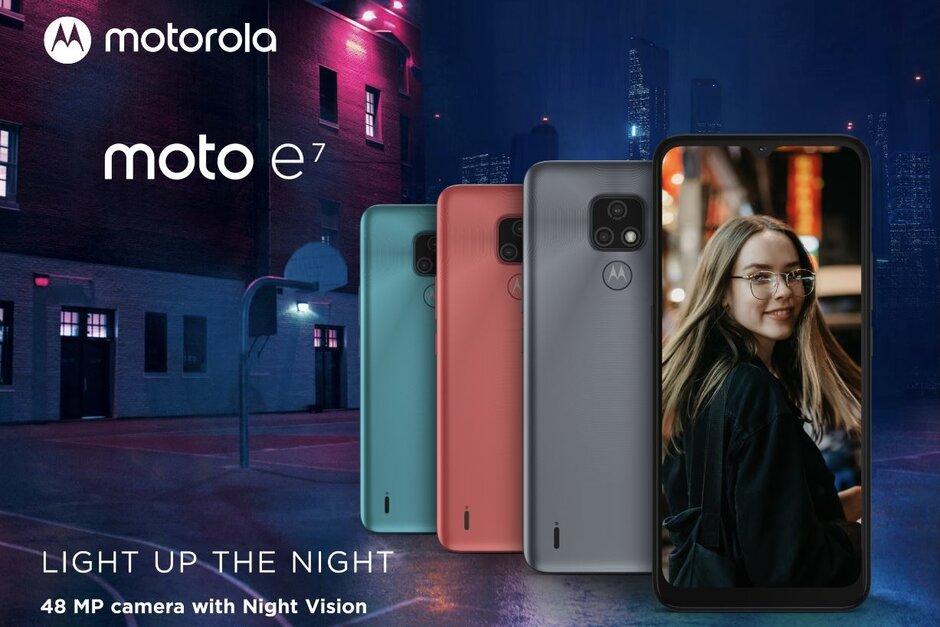 Mobilný telefón Motorola Moto E7