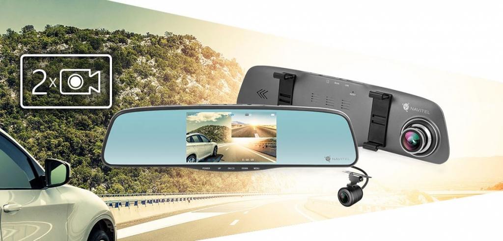 Duální autokamera Navitel MR250