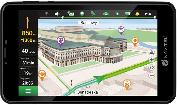 Tablet s GPS navigací Navitel T757 LTE