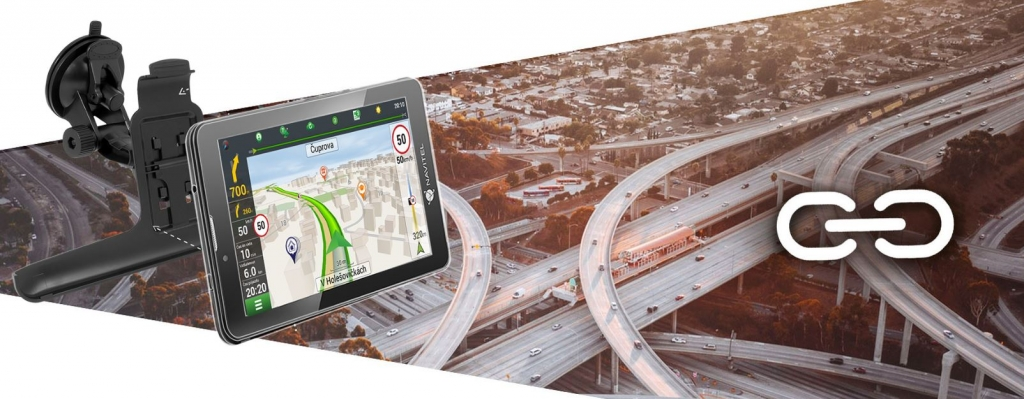 Tablet s GPS navigací Navitel T700 Pro