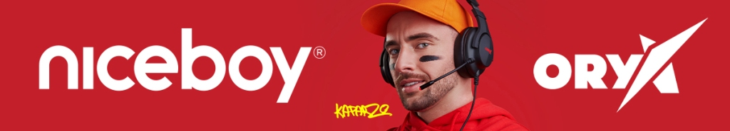 Herní sluchátka Niceboy ORYX X210 Donuts