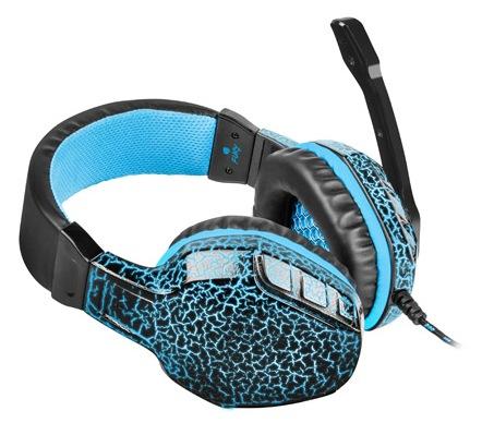 Herní stereo sluchátka FURY Hellcat