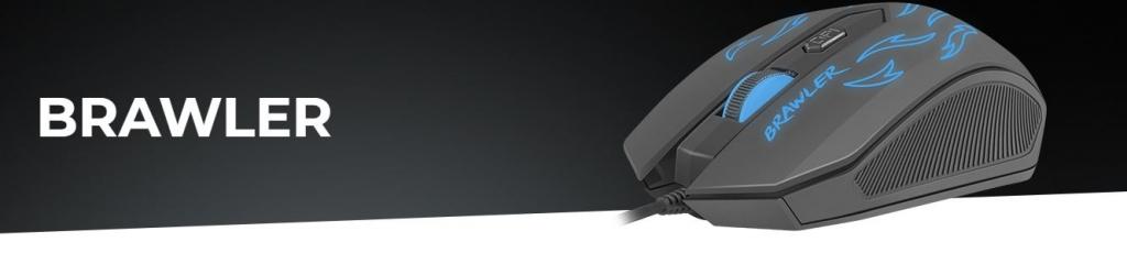 Herní optická myš FURY Brawler