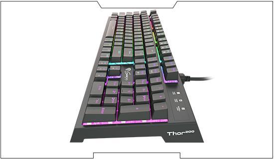 Herní klávesnice Genesis Thor 200 RGB