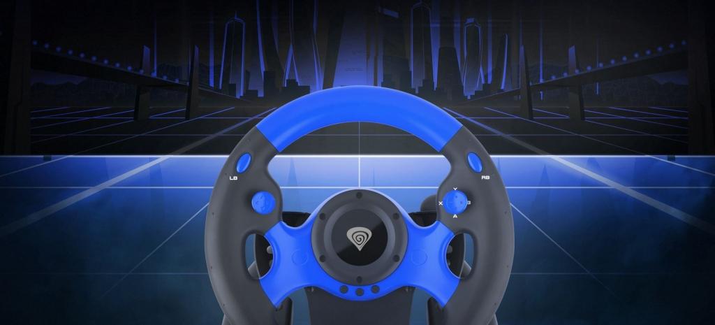 Herní volant Genesis Seaborg 350