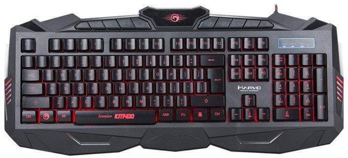 Herní sada klávesnice, myši a podložky Marvo KM400 + G1