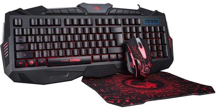 Herná sada klávesnice, myši a podložky Marvo KM400 + G1