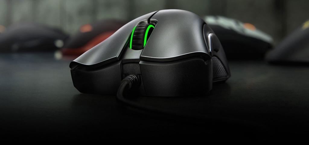 Drôtová herná myš Razer DeathAdder Essential