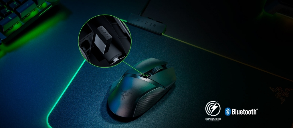 Herná myš Razer Basilisk X HyperSpeed
