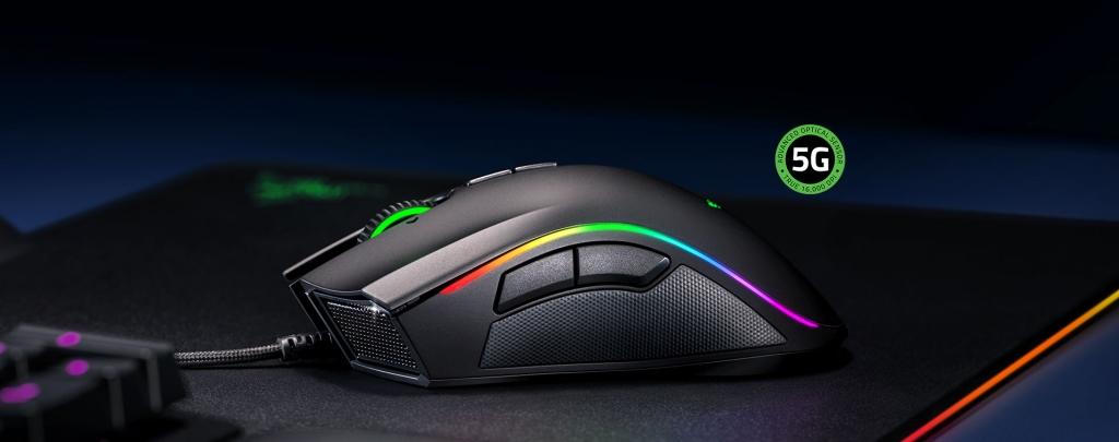 Drôtová herná myš Razer Mamba Elite