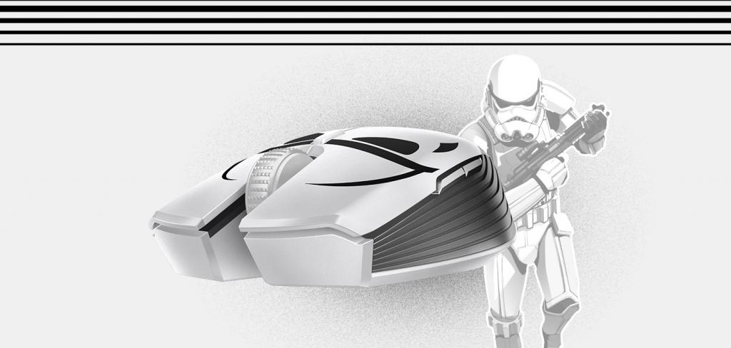 Herní myš Razer Atheris Stormtrooper