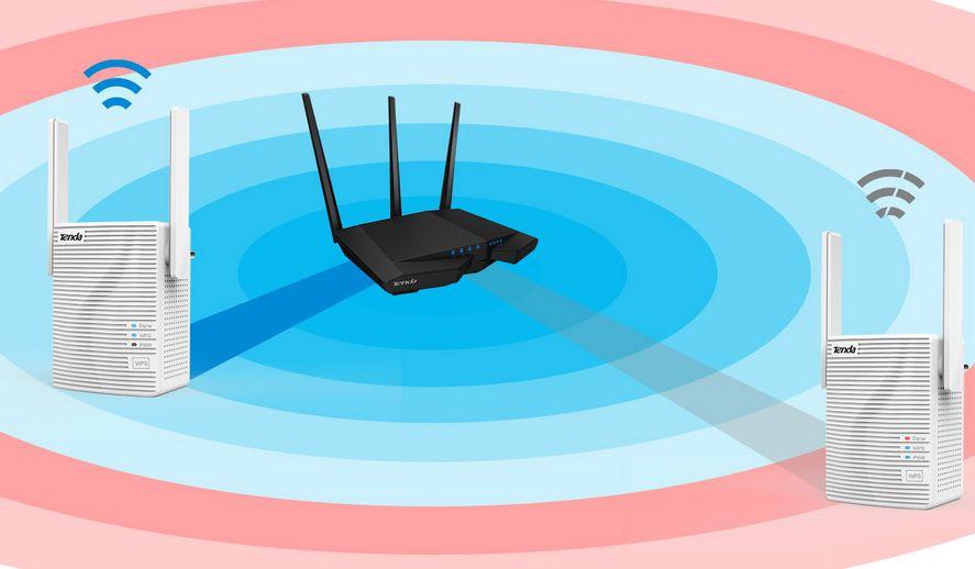 Zosilňovač Wi-Fi disponuje anténou, ktorú môžete natáčať do rôznych smerov