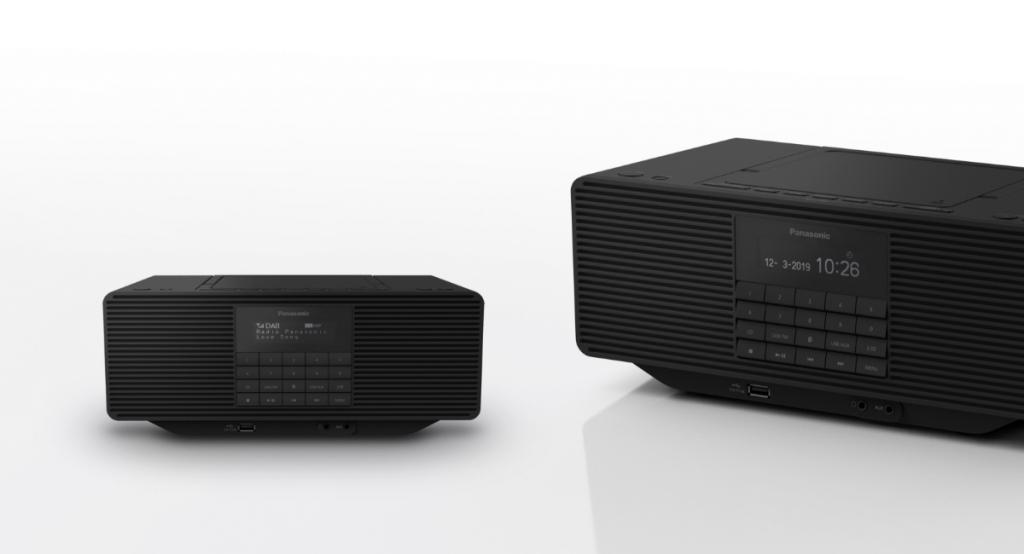 Rádioprijímač Panasonic RX-D70BTEG-K