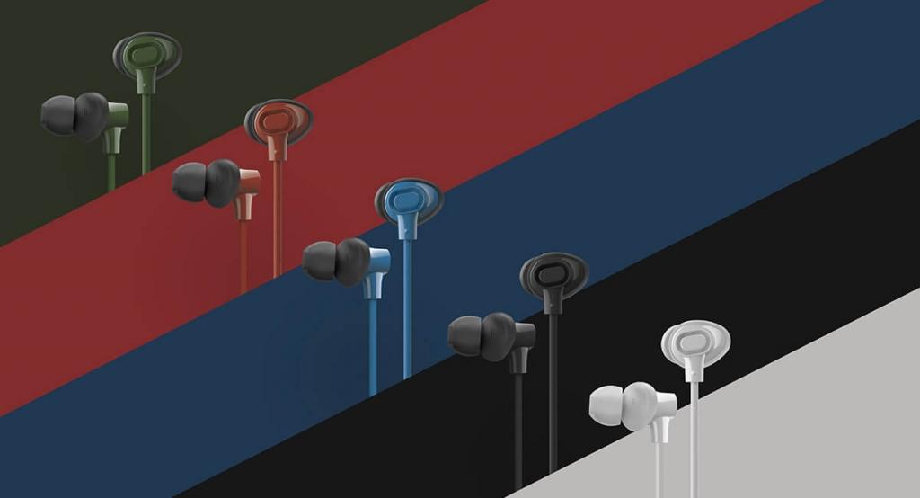 Farebné varianty slúchadiel do uší Panasonic RP-NJ310BE