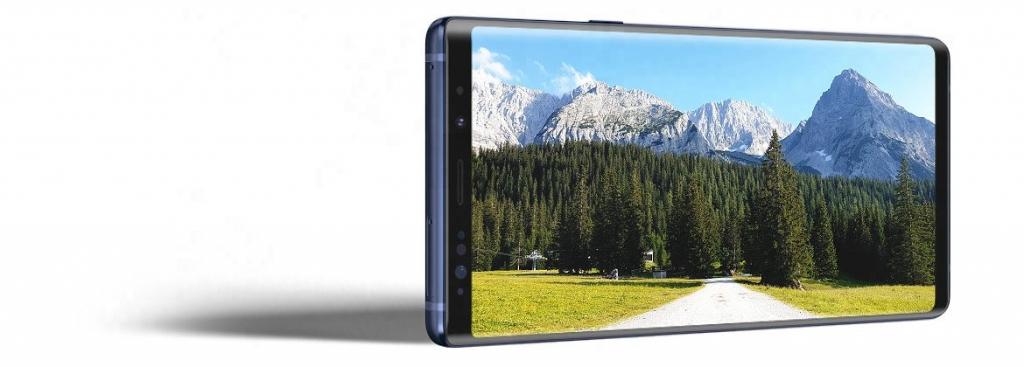 Infinity displej Samsung Galaxy Note 9