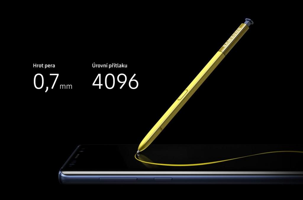 Dotykové pero Samsung Galaxy Note 9