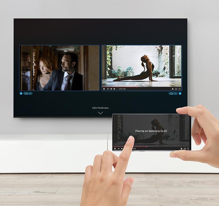 QLED TV Samsung QE55Q95T