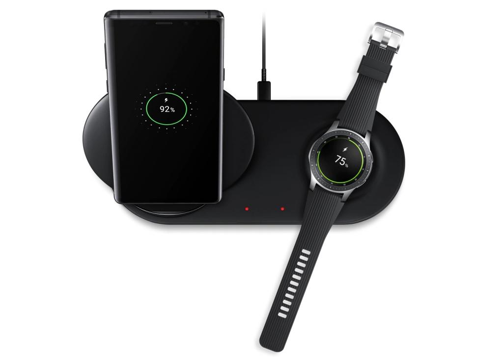 Duálna bezdrôtova nabíjacia stanica Samsung EP-N6100TBEGWW