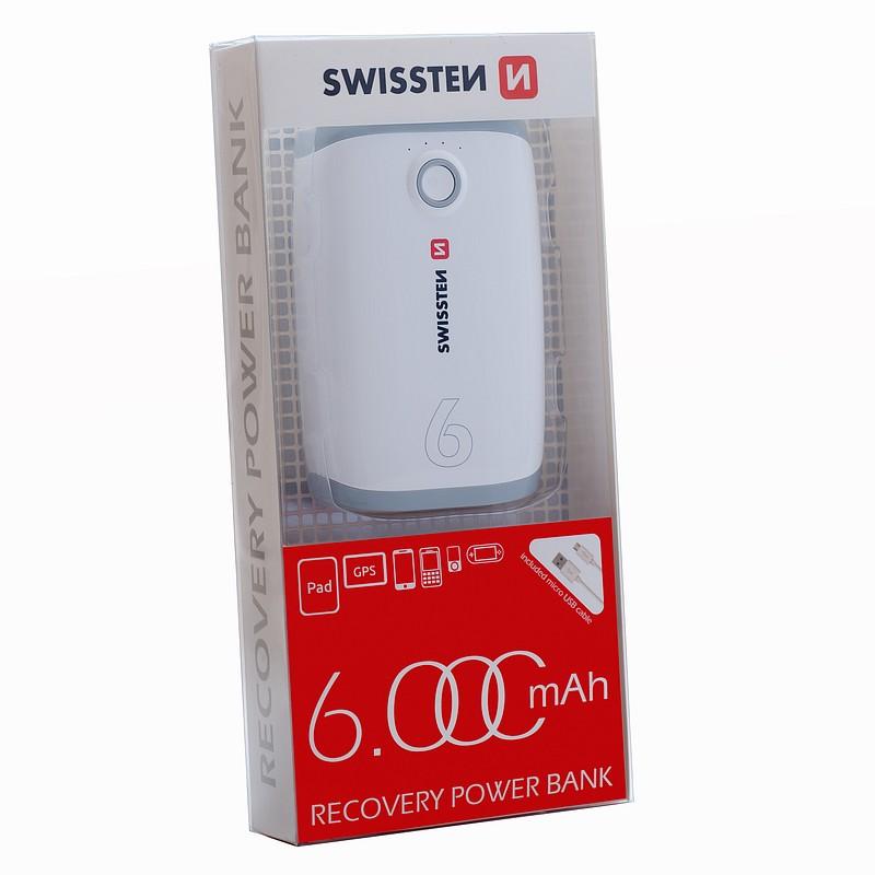 Powerbank Swissten 6000mAh