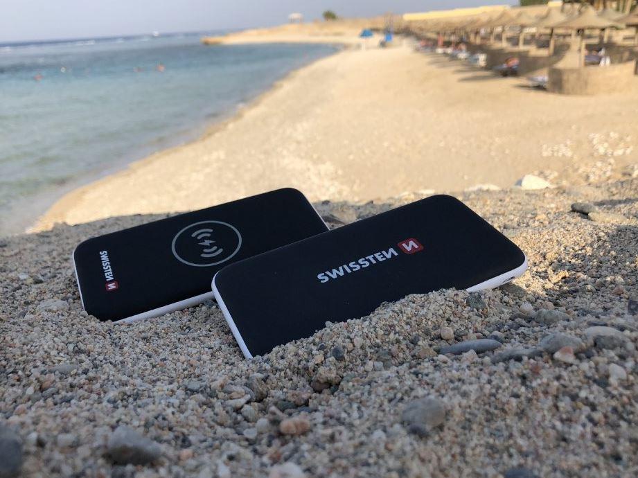 SWISSTEN iPhone slim power bank 10000 mAh