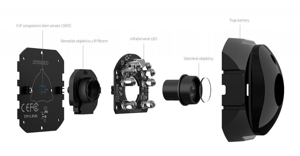 Wi-Fi kamera TP-Link NC450