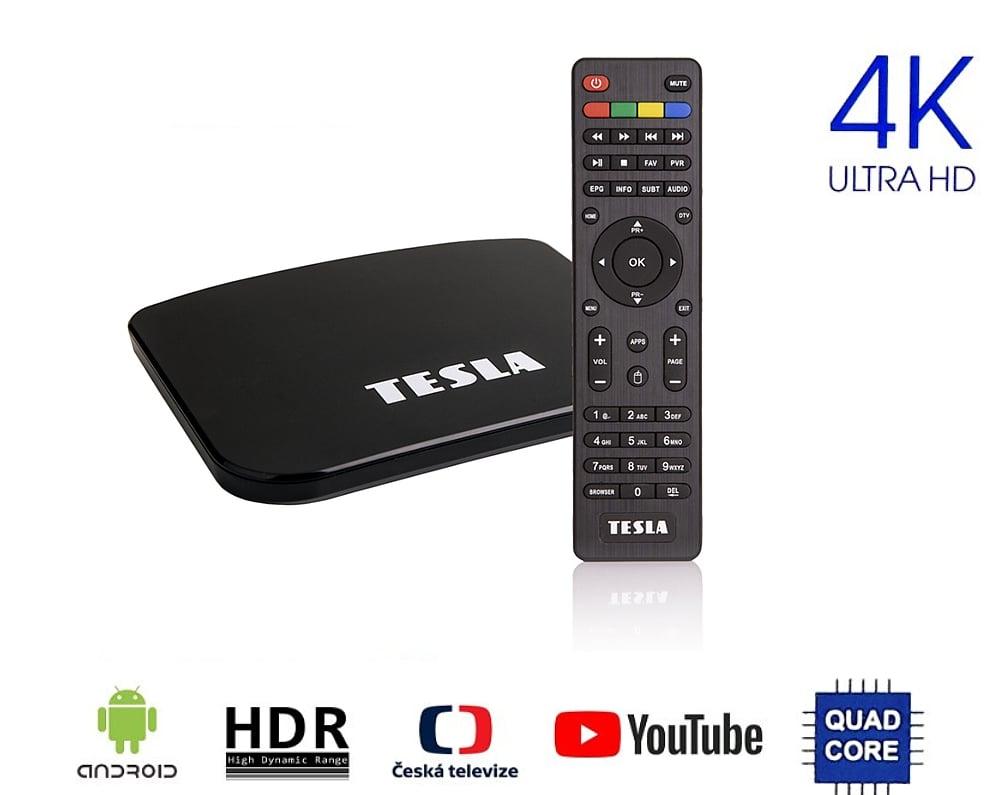 DVB-T2 set-top-box s KODI TESLA TEH-500 Plus