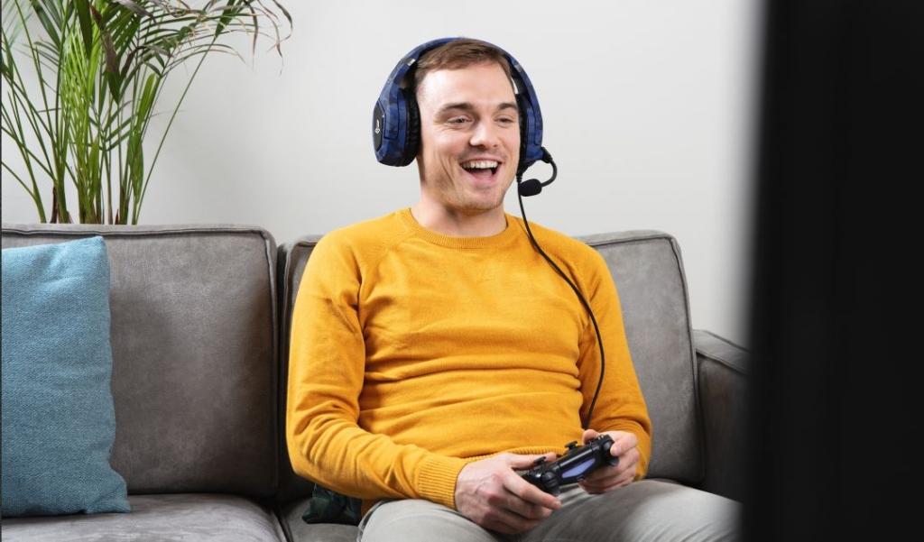 Herní sluchátka Trust Forze-B