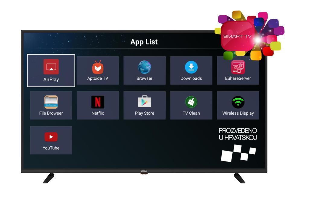 Smart TV Vivax 50UHD122T2S2