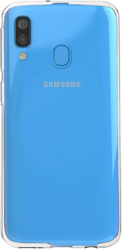 Priehľadný obal na mobil Samsung A40