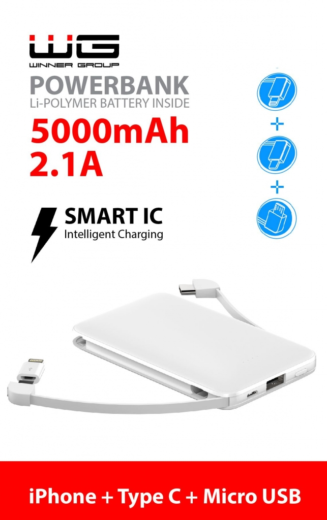 Powerbanka Winner 5000mAh