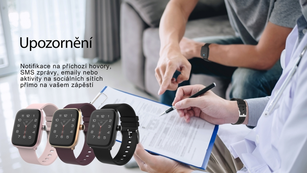 Smart hodinky iGET Fit F20