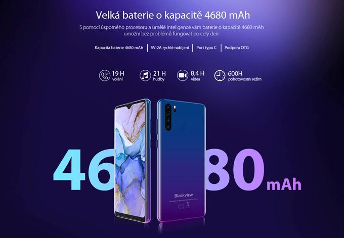 Mobilní telefon iGET Blackview GA80 Pro