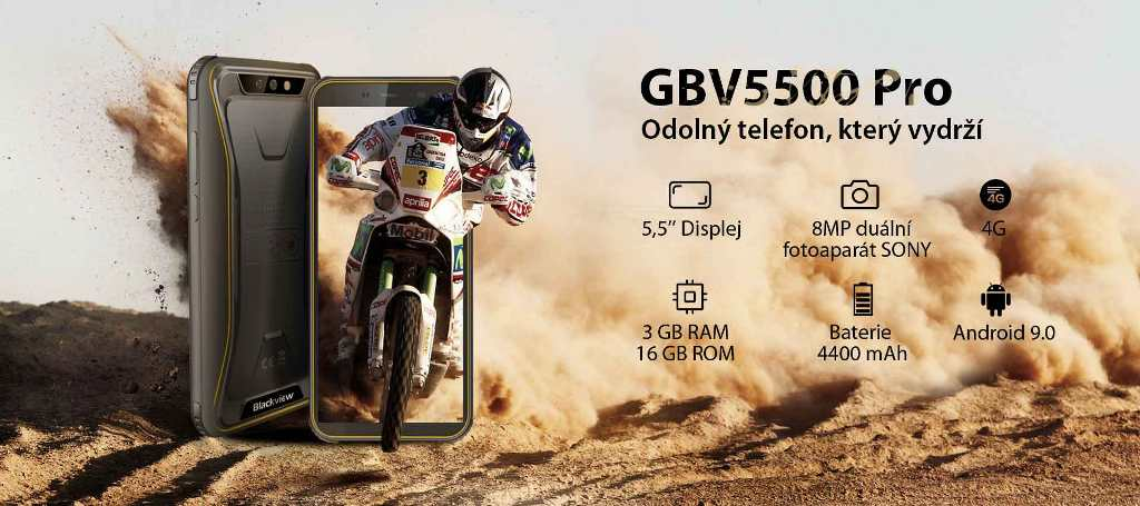 iGET Blackview GBV5500 Pro