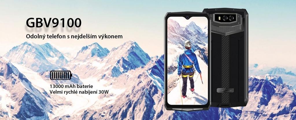 Odolný telefon iGET Blackview GBV9100