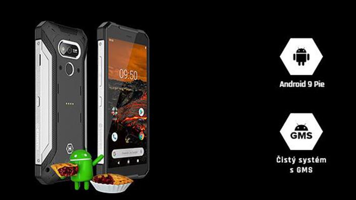 Odolný telefon myPhone Hammer Explorer