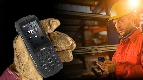 Odolný telefón myPhone Hammer 4
