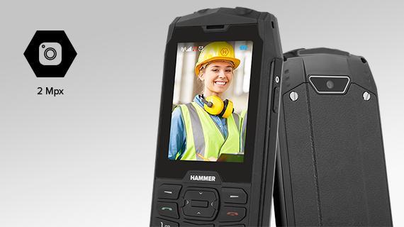 Odolný telefón myPhone Hammer 4 - detail kamery