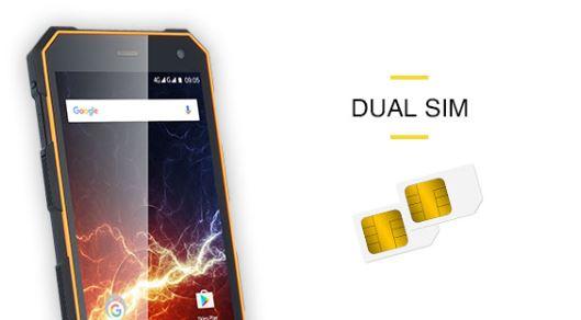 Odolný mobil myPhone Hammer ENERGY - funkcia Dual Sim