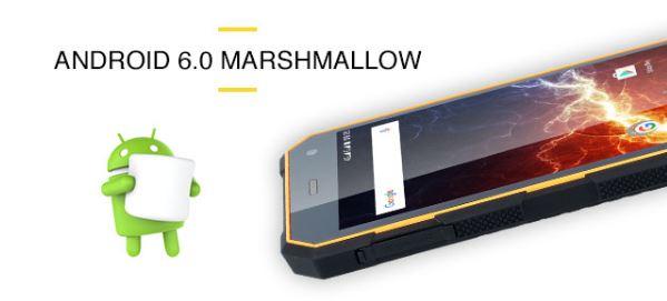 Odolný telefón myPhone Hammer ENERGY - operačný systém Android
