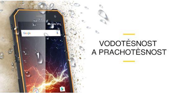 Odolný mobil myPhone Hammer ENERGY - vodotesnosť a prachotesnosť