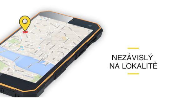 Odolný mobil myPhone Hammer ENERGY - GPS modul