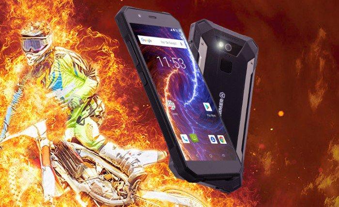 Odolný telefón myPhone Hammer Energy 18x9 LTE