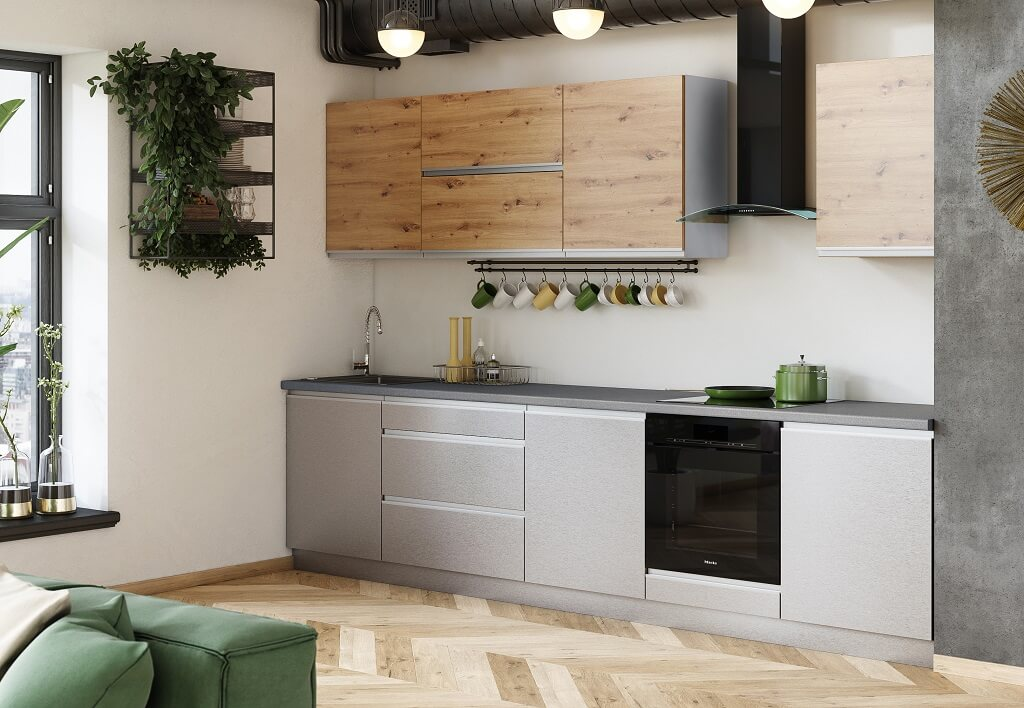 Kuchyně Metalica 320 cm