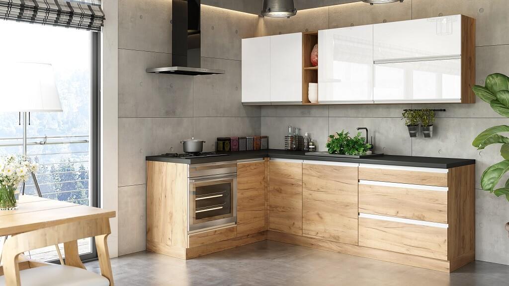 Trendy kuchyně Brick 240x160cm