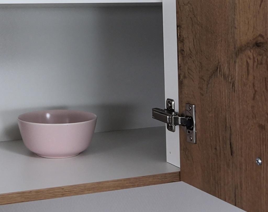 Kuchyňa Heidi - detail pántov