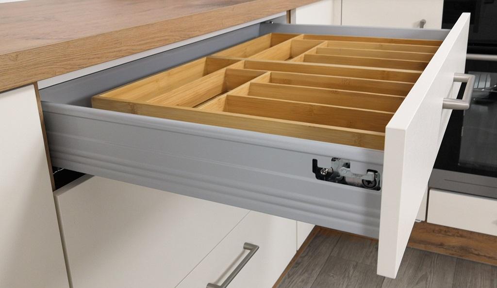 Moderná kuchyňa Heidi - detail zásuvky