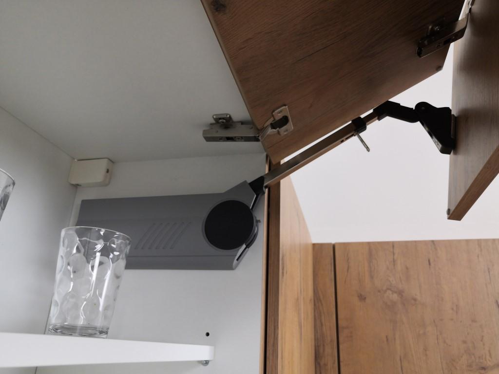 Kuchyně Heidi - detail systému Aventos